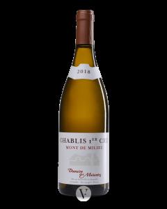 Bottle white wine Domaine des Malandes Chablis Premier Cru 'Mont de Milieu' 2017
