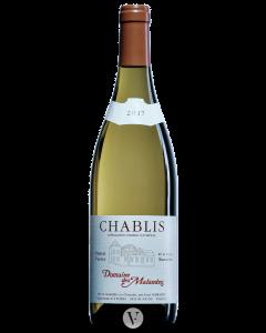 Bottle white wine Domaine des Malandes Chablis 'Tour du Roy' Vieilles Vignes 2017