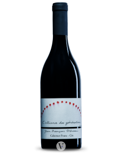 Bottle red wine Domaine Jean-François Mérieau Touraine Cabernet/Côt 'L'Alliance des Générations' 2015