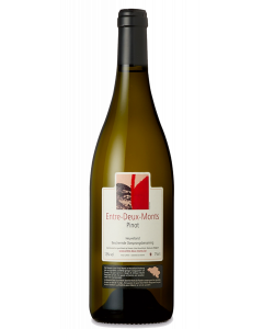 Bottle of Entre-Deux-Monts Pinot Blanc