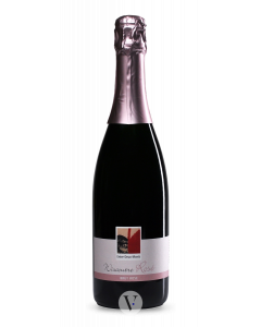 Bottle sparkling wine Entre-Deux-Monts Wiscoutre Rosé Brut NV
