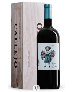 Bottle red wine Bodegas Felix Callejo Flores de Callejo Roble 2017
