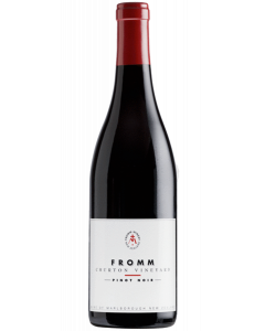 Bottle red wine FROMM Winery Churton Single Vineyard Pinot Noir 2017