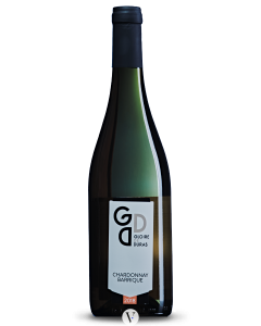 Bottle white wine Wijndomein Gloire de Duras Chardonnay Barrique 2018