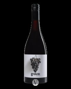 Bottle red wine Grava Pinot Noir 2016