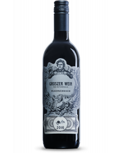 Bottle red wine Groszer Wein Blaufränkisch 2016