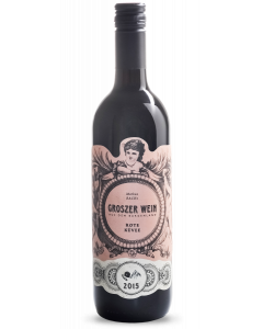 Bottle red wine Groszer Wein Rote Küvee 2015