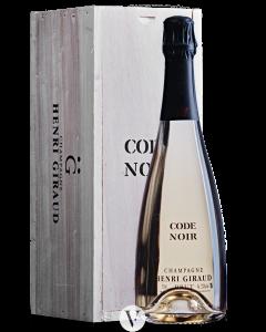 Bottle sparkling wine Domaine Henri Giraud Code Noir 'Grand Cru' NV
