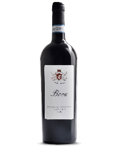 Bottle red wine Azienda Agricola Poderi Garona Boca 2013