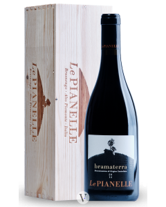 Bottle red wine Le Pianelle Bramaterra - Magnum in Gift box 2014