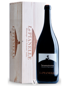 Bottle red wine Le Pianelle Bramaterra - Jeroboam in Gift box 2015