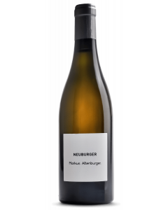 Bottle white wine Markus Altenburger Neuburger betont 'beton-ei' 2018