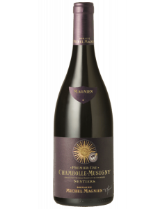 Bottle red wine Domaine Michel Magnien Chambolle-Musigny Premier Cru 'Les Sentiers' 2014