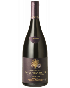 Bottle red wine Domaine Michel Magnien Gevrey-Chambertin Premier Cru 'Cazetiers' 2013