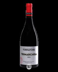 Bottle red wine Francesco Tornatore Etna Rosso Trimarchisa - Tre Bicchieri 2016
