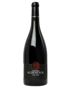 Bottle red wine Wijndomein Aldeneyck Pinot Noir 2017
