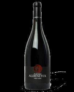 Bottle red wine Wijndomein Aldeneyck Pinot Noir 2017