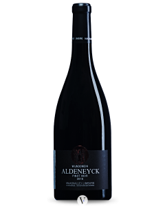 Bottle red wine Wijndomein Aldeneyck Pinot Noir 2016