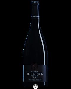 Bottle red wine Wijndomein Aldeneyck Pinot Noir 2016